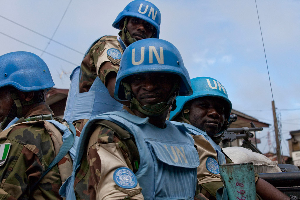 UN peacekeepers in Liberia. Photo: UNMIL/Staton Winter