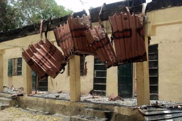 Countless schools have been destroyed by Boko Haram in northeastern Nigeria since 2009. Photo: Mohammad Ibrahim/IRIN