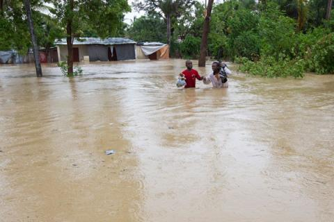 Flooding can be particularly devastating for poor communities