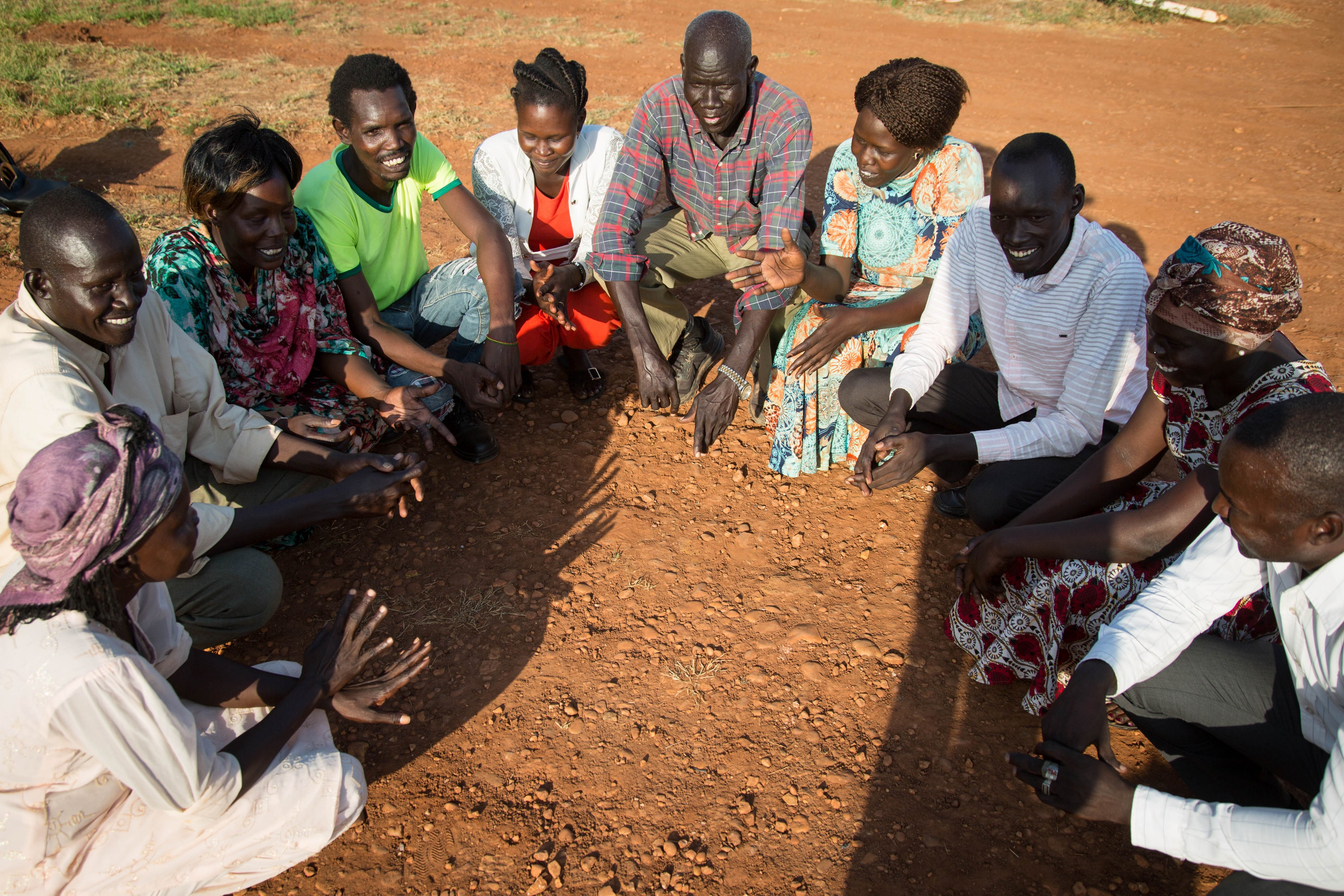Women and men from the Ngok Dinka communities, Abyei, 2019