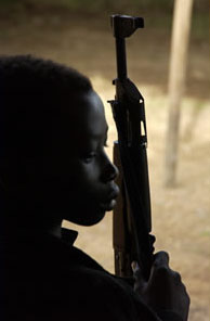 Security Council action against using child soldiers