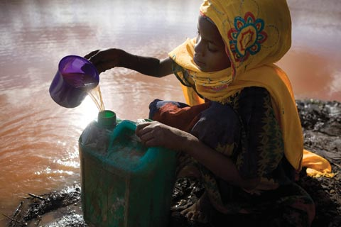 Drought-prone Moyale region