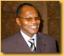 Mr. Mohamed Ibn Chambas was elected executive secretary of the Economic Community of West African States (ECOWAS) by the region's heads of state, and took up his duties in February 2002. At the time, he was a member of parliament in Ghana, after previousl