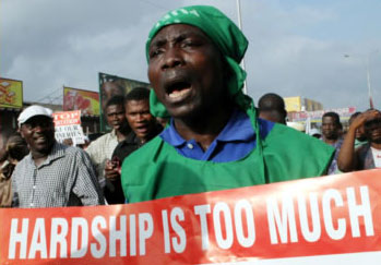 Nigerian labour protest: Workers across Africa are comparing their difficult conditions with the wealth of the elites