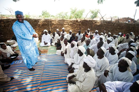 Ibrahim Gambari, head of joint African Union-UN mission in Darfur