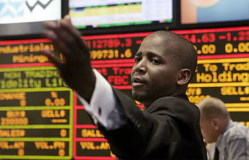 An African stock exchange