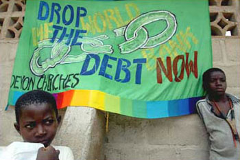 Part of a growing international campaign for debt cancellation