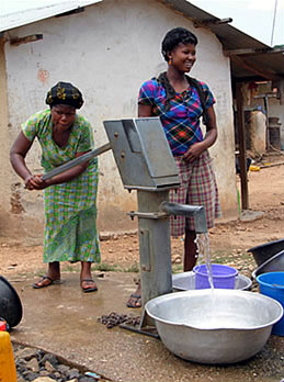 Expanding access to clean water is one of the goals of the Millennium Villages Project