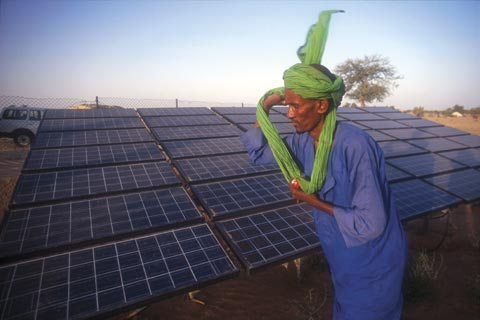 Solar panels in Mali: More African countries are moving towards use of clean energy sources