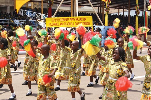 Cameroon and 16 other African countries celebrate their 50th anniversary of independence this year