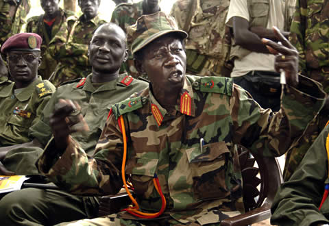 Joseph Otti, one of the indicted leaders of Uganda's notorious Lord's Resistance Army