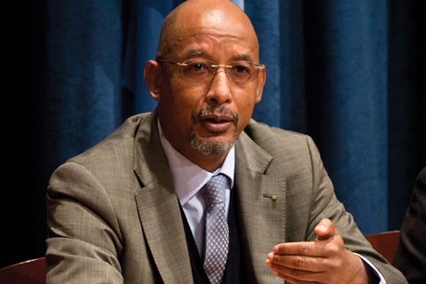 Ibrahim Assane Mayaki, CEO of the NEPAD Planning and Coordinating Agency
