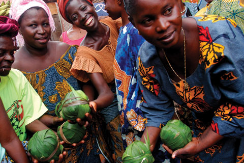 A women's cooperative in Benin