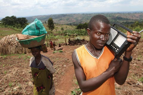 As Burundi refugees return home after the end of the war, radio is one of the most important sources of information and communication