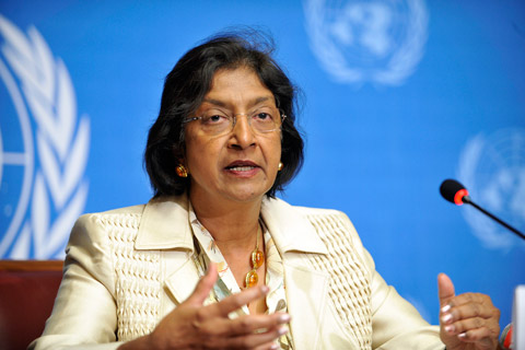 Op-Ed by United Nations High Commissioner for Human Rights Navanethem Pillay