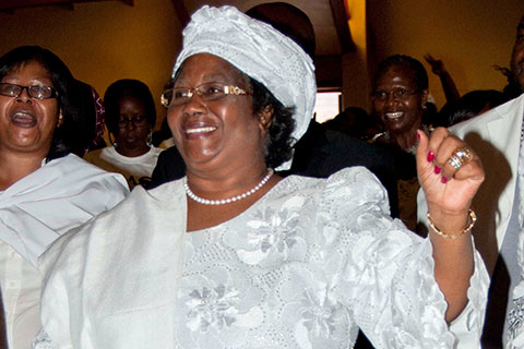 Joyce Banda, previously vice-president,became Malawi's new president in April 2012