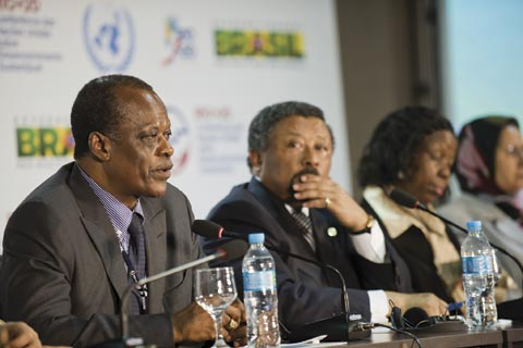 African delegates in Rio explain their continent's aspirations for the summit.