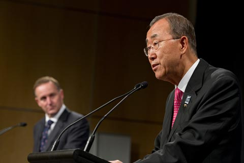 Ban Ki-moon, UN Secretary-General