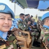 Major Nargis Parvin from Bangladesh, serving in the DR Congo