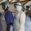 ealth workers at Magbenteh Ebola Treatment Centre in Makeni, Sierra Leone. Ebola Sierra Leone.