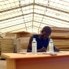 An employee of the Southern Sudan Commission for Census, Statistics and Evaluation (SSCCSE) ...
