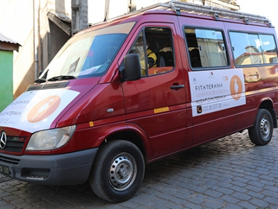 The transport provided by the Ministry of Public Health with UNFPA's support is expected to serve around 5,000 women during the lockdown.