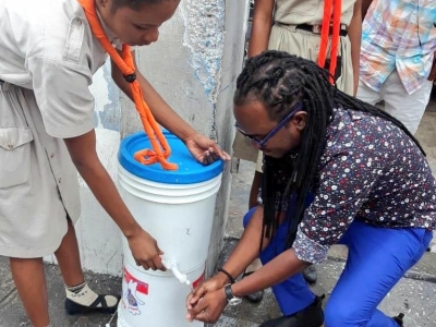 Awareness and hand washing campaigns