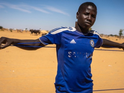Eighteen-year-old Cherif was forced to flee his village in northern Nigeria to Niger four years ago