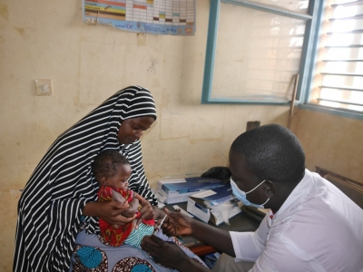Abdou Harouna is a Nurse and Vaccinator from Niger