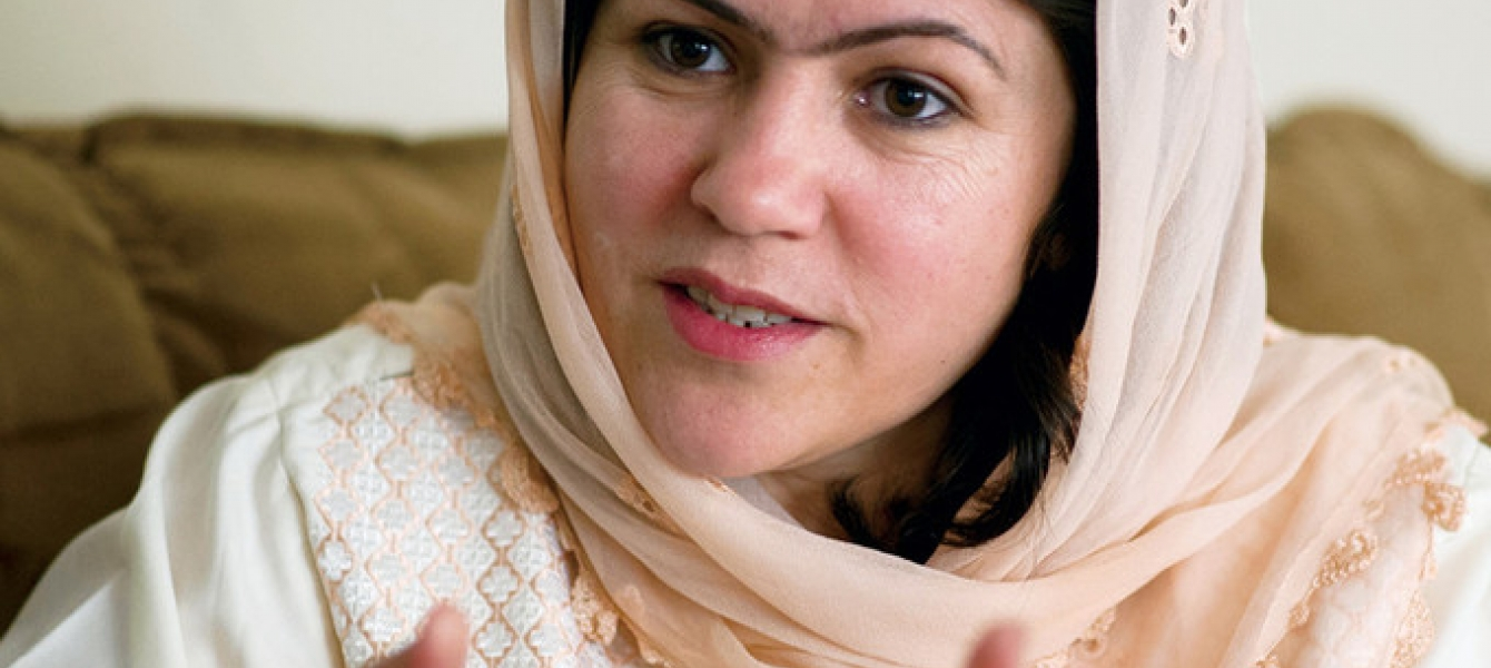 """""""I want my daughters to be respected as human beings,"""" says Fawzia Koofi, a trailblazer in Afghanistan."""