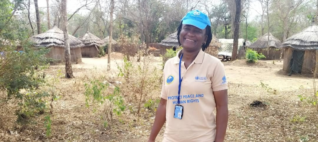 -Okwa Morphy from Nigeria, serving in South Sudan