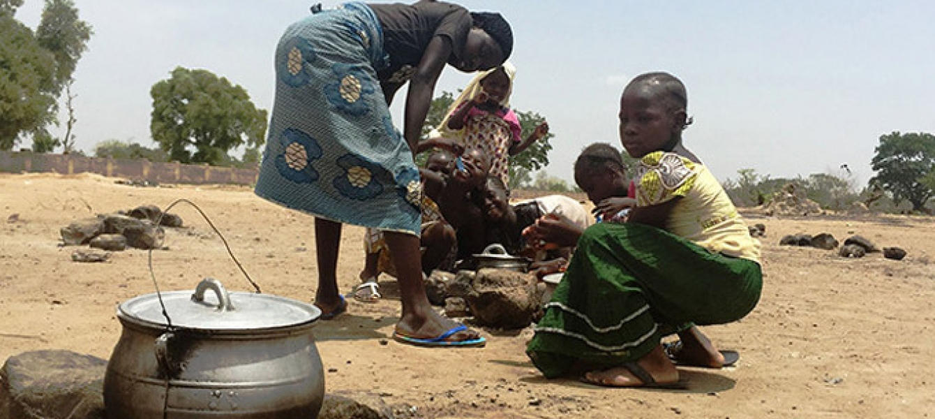 Girls in northern Nigeria prepare a meal. The crisis caused by the Boko Haram insurgency threatens to undermine development throughout the region. Photo: UNFPA Nigeria/Ololade Daniel