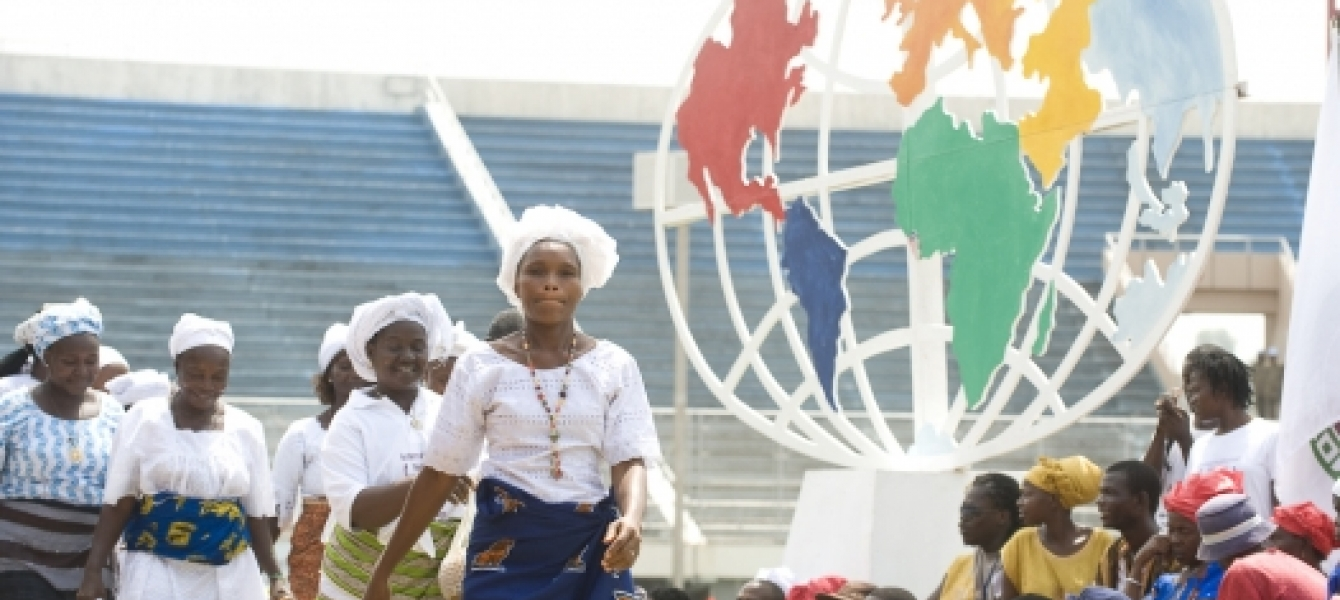 Liberian women at an empowerment and leadership conference in Monrovia, Liberia. Photo: UNMIL Photo/Christopher Herwig