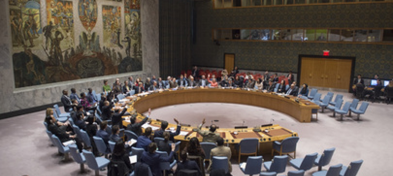 Security Council adopts resolution on new president of Gambia. Photo credit: UN Photo/Eskinder Debebe