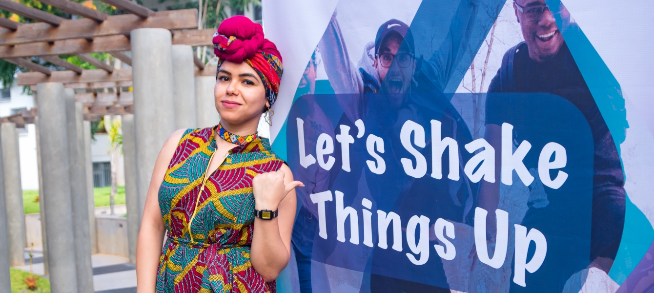 Aya Chebbi is the African Union Youth Envoy