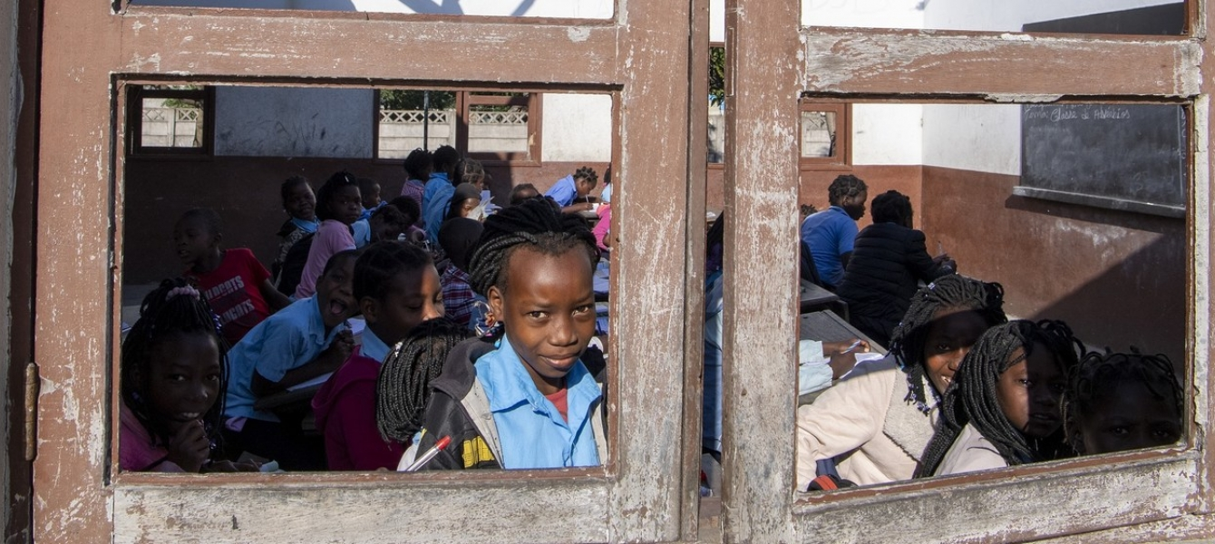 Some schools in Mozambique were able to stay open in the aftermath of Cyclone Idai