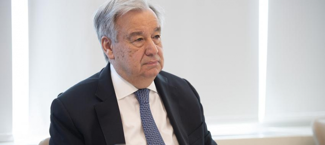 Secretary-General António Guterres takes part in the extraordinary Virtual Leaders' Summit of the Group of Twenty (G-20) on the COVID-19 Pandemic