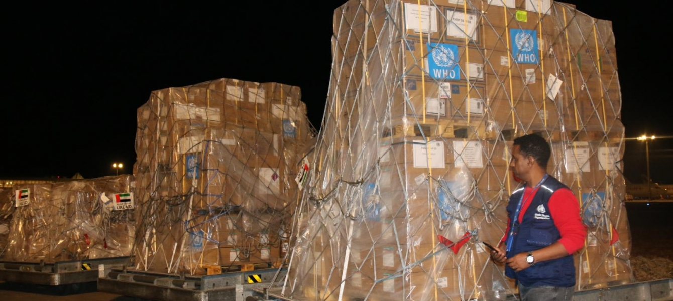 WHO, WFP and AU deliver critical supplies as COVID-19 accelerates in West and Central Africa