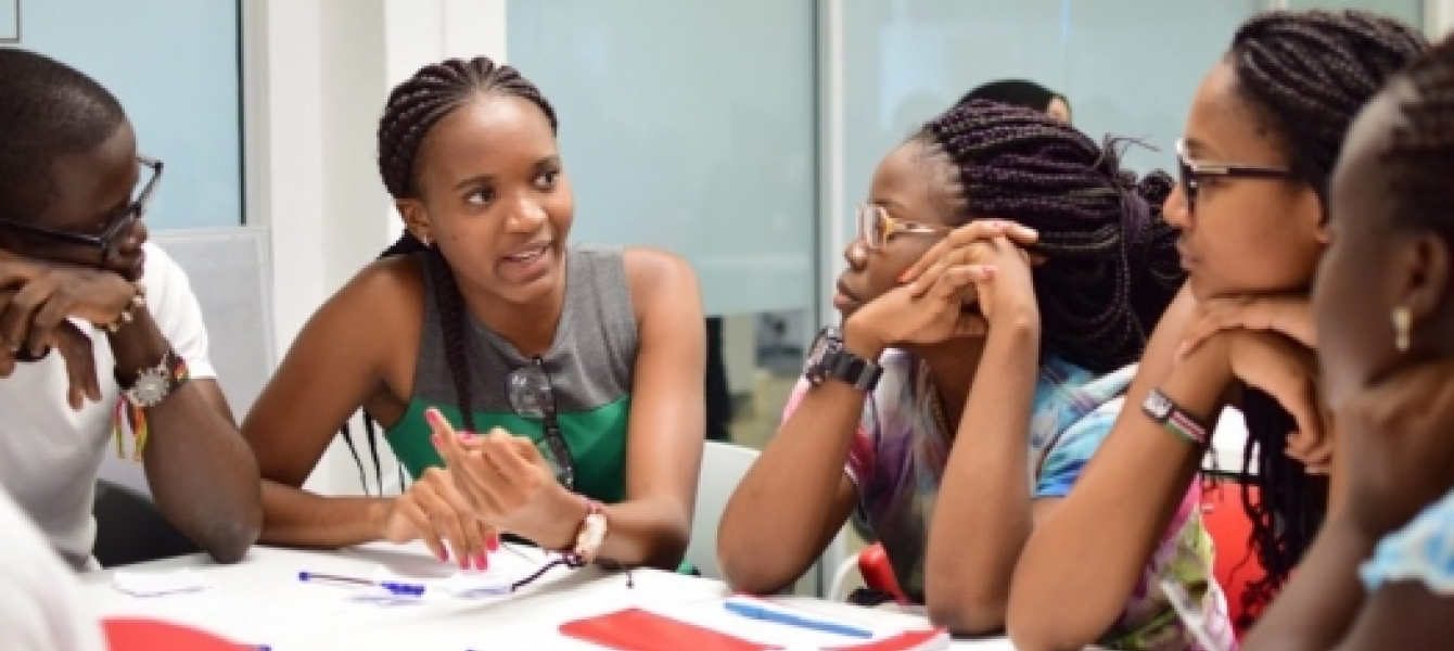 Students at the African Leadership University in Mauritius. Photo: ALU website