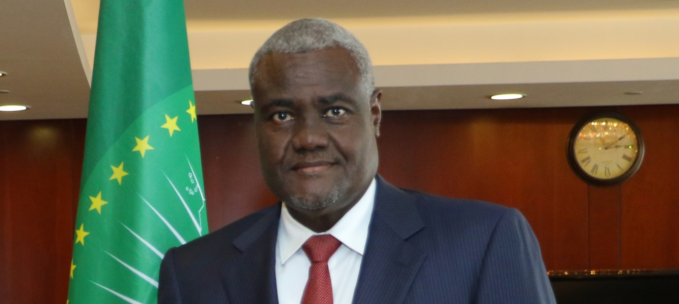 AU Commission Chairperson Moussa Faki Mahamat