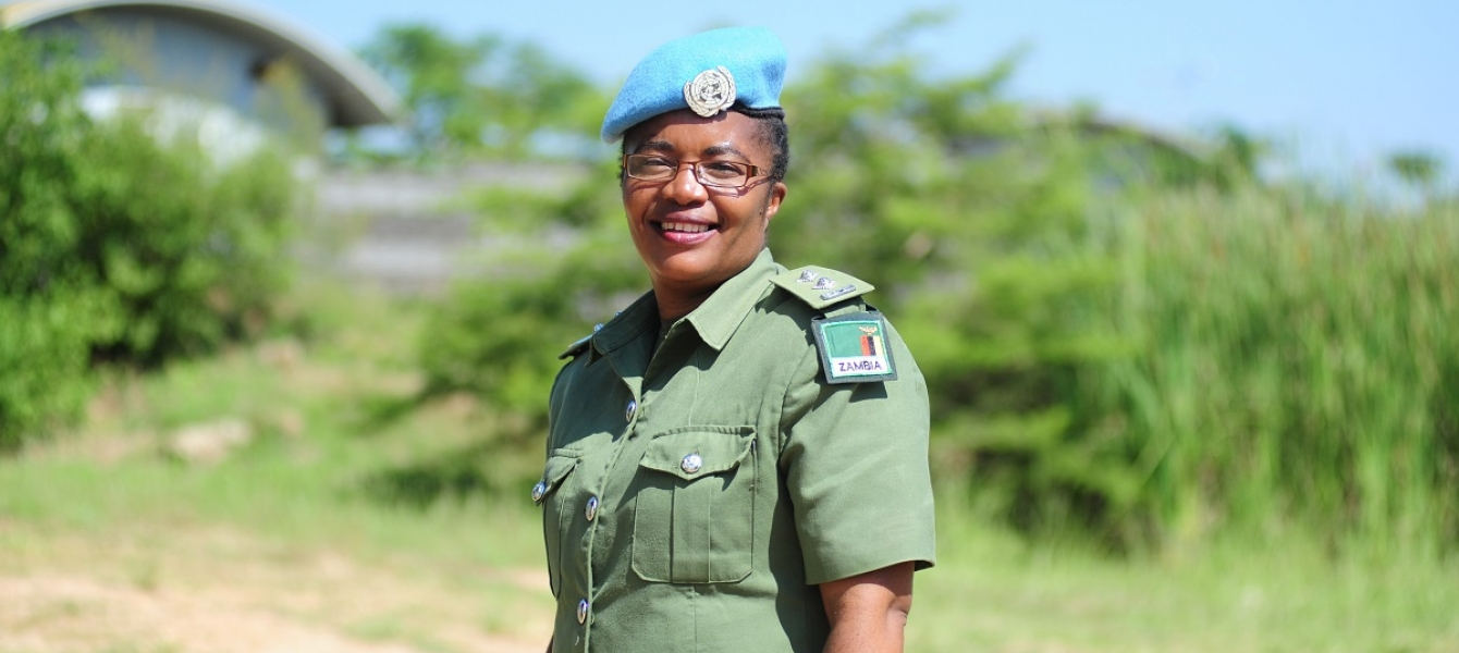 Chief Inspector Doreen Malambo, serving in the UN Mission in South Sudan (UNMISS) has been selected as the 2020 United Nations Woman Police Officer of the Year.
