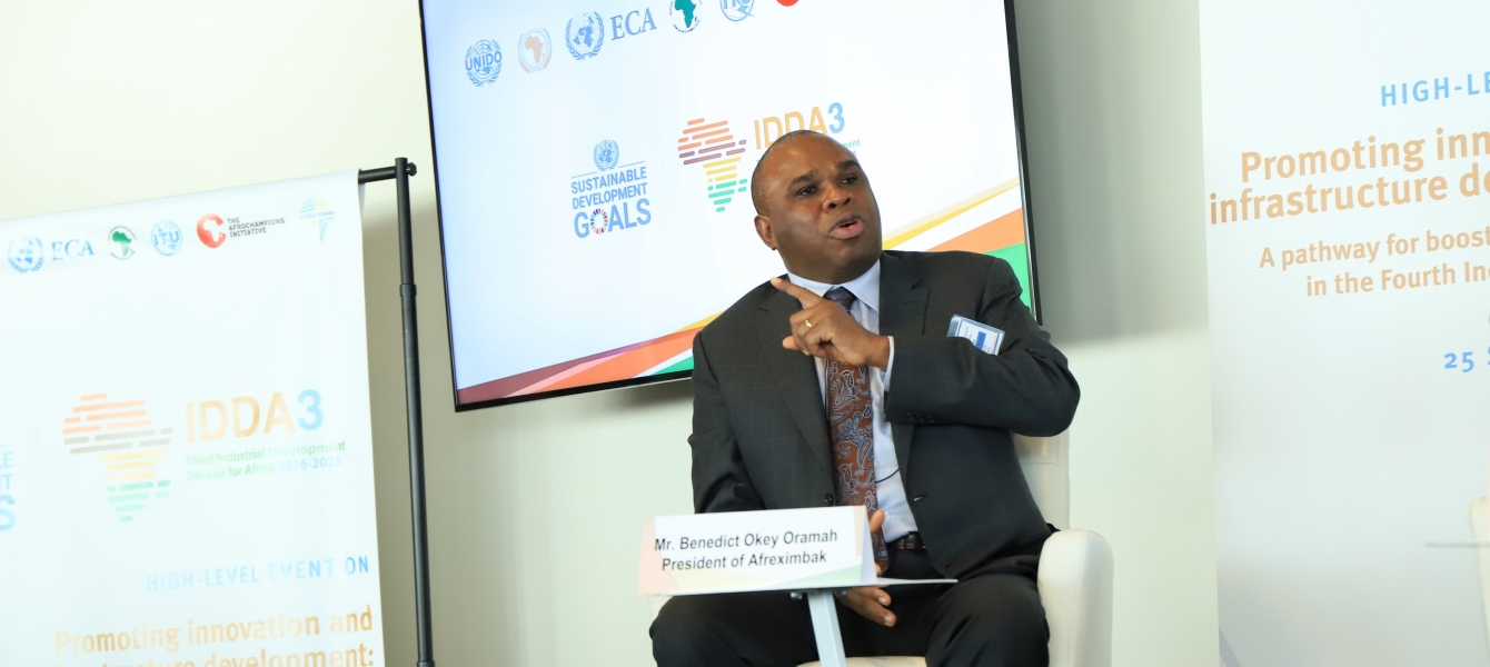 Benedict Okey Oramah, President of Afreximbank and Chairman, Board of Trustees of the African Union