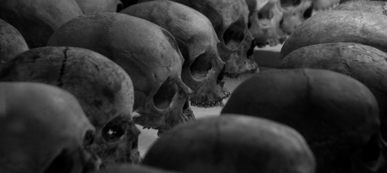 Images of the 1994 genocide against the Tutsi in Rwanda on display in the Johannesburg Holocaust ...