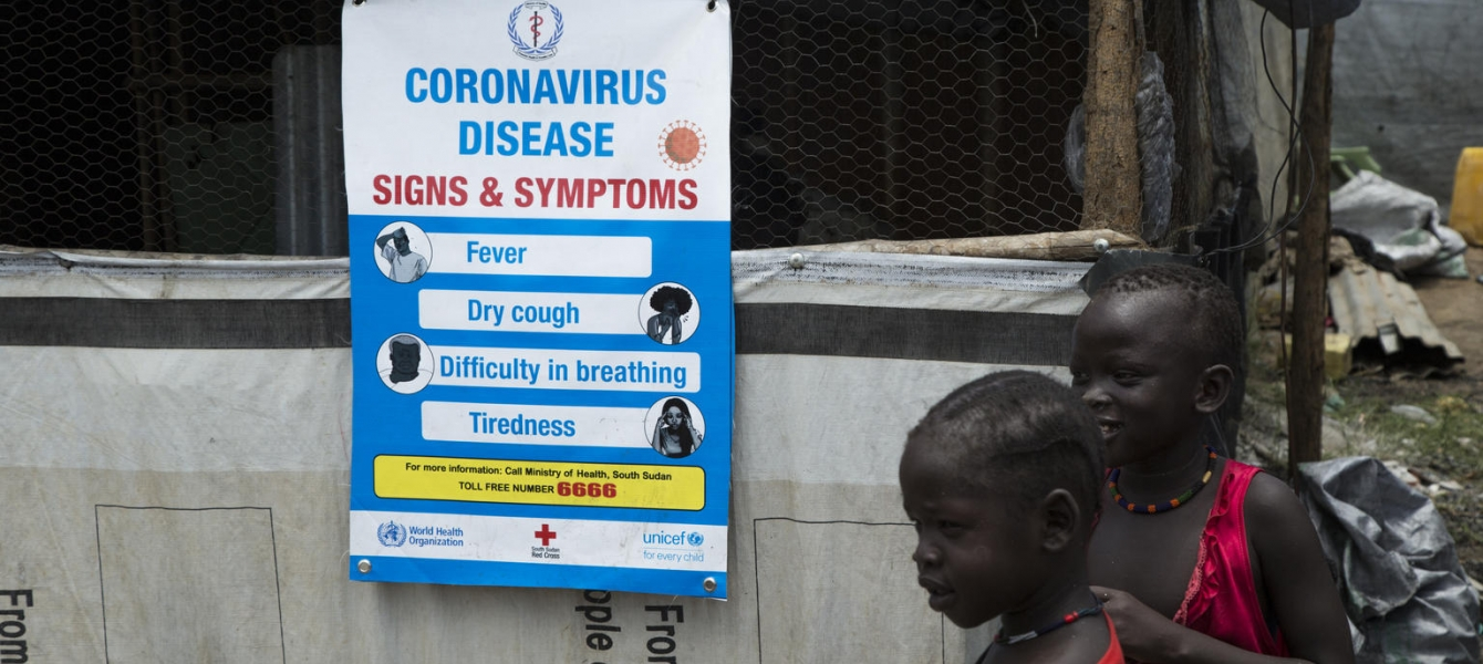 Together with the Ministry of Health, UNICEF is leading the Risk Communication efforts in South Sudan linked to the outbreak of Coronavirus disease.