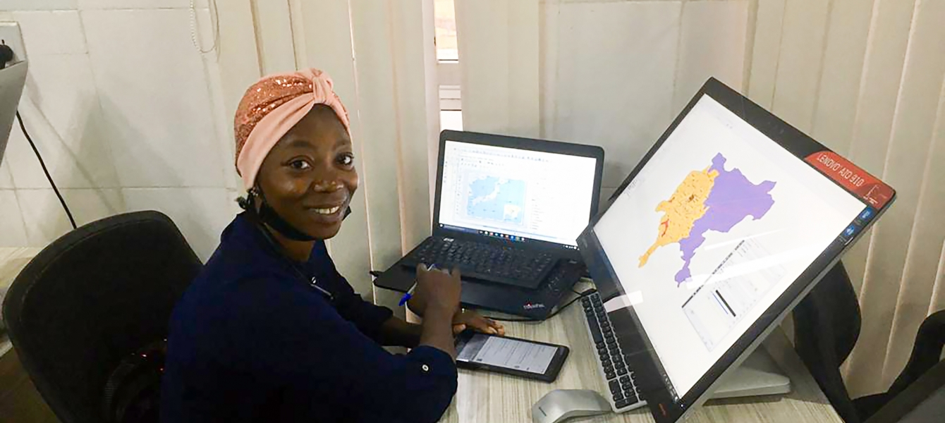 Susan Ojochide commenced her PhD research in 2020 at Bayero University in Kano, Nigeria. She aims to develop a model integrating ground station meteorological data, earth observation data and climate models in northern Nigeria.
