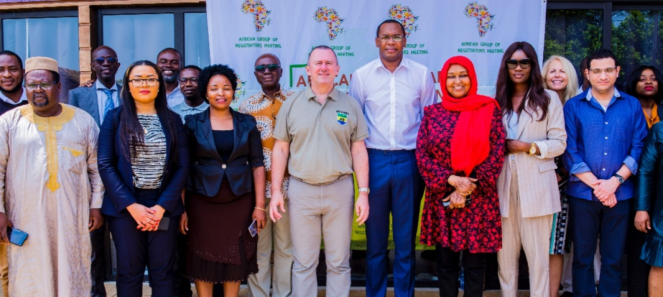 African Group of Negotiators on Climate Change during our strategic meeting in Libreville from...