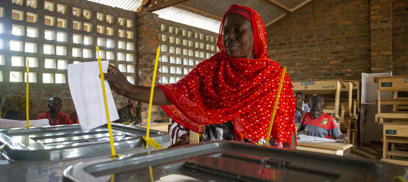Despite fear due to the security situation still fragile, Central Africans overwhelmingly ...