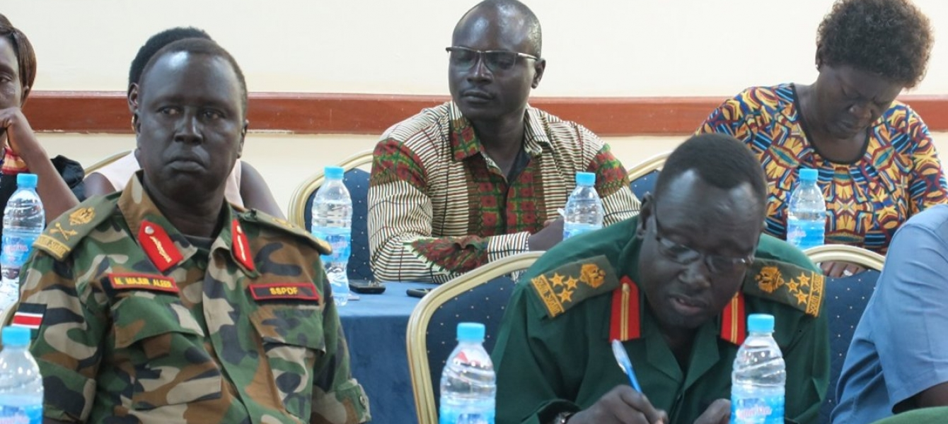 """Commitment to a """"zero-child army"""" trumps differences during Juba conference"""