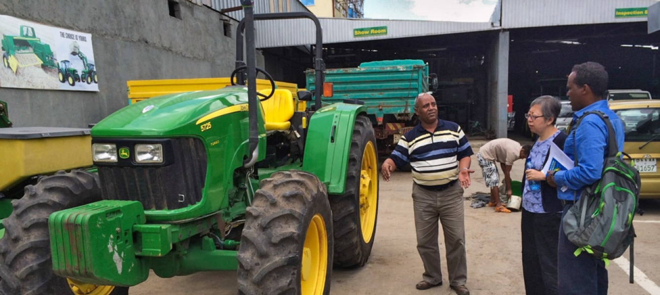 Mechanizing agriculture is key to food security | Africa Renewal