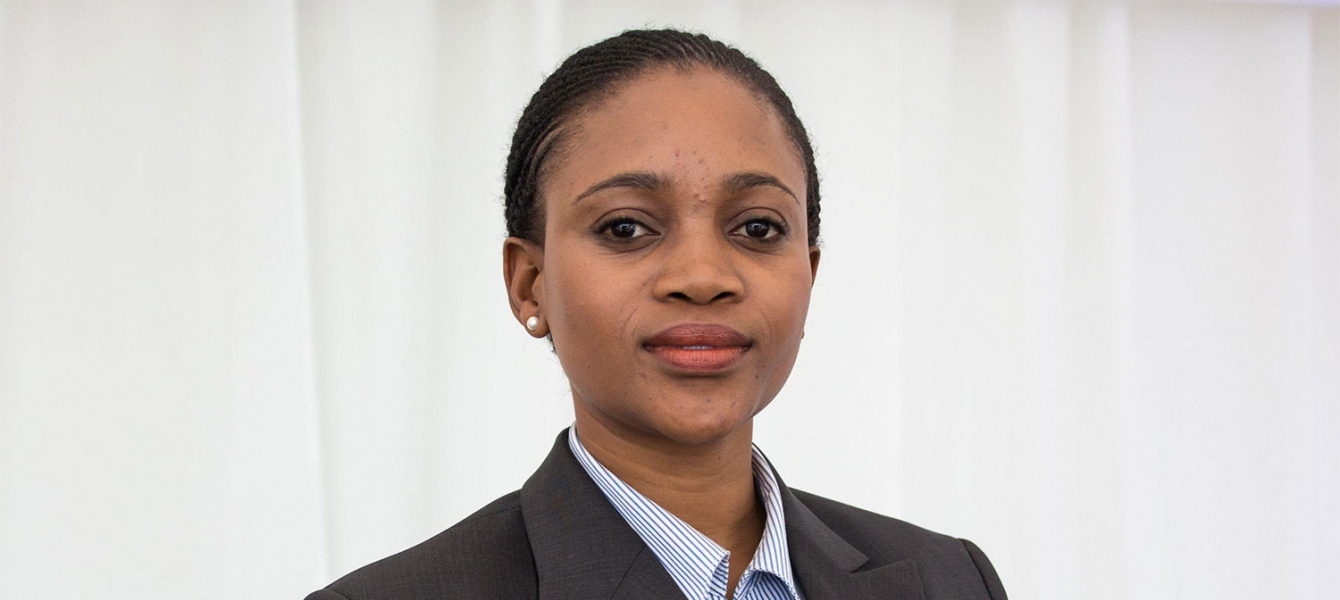 Bogolo Kenewendo of Botswana is also adviser to the UN Secretary-General on digital cooperation